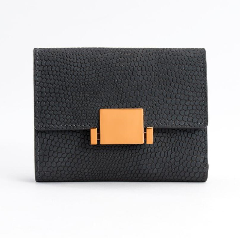meet ae4da 175aa US $7.85 10% OFF|Women Card Holders Brand Designer Ladies Credit Card  Wallet Female Fashion Genuine Leather Business Python pattern Cover Case-in  ...