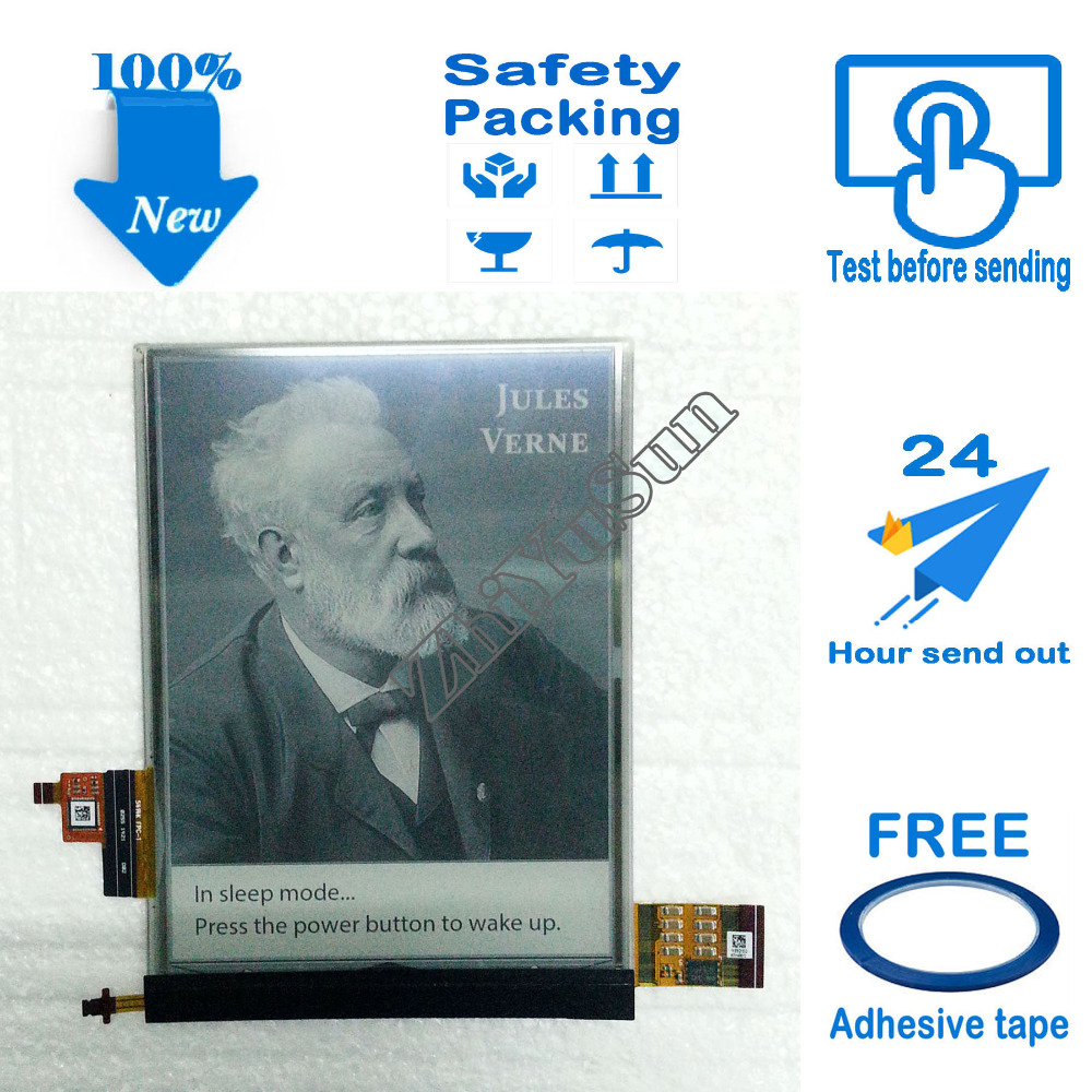 ED060XD4(LF)U2-00 ED060XD4 U2-00 6 inch 100% NEW 3 CONNECTOR for ebook eink lcd display touch screen digitizer, Safety packing brand new 6 e ink ed060sc4 ed060sc4 lf lcd screen display panel for ebook reader prs 505 600 500 300