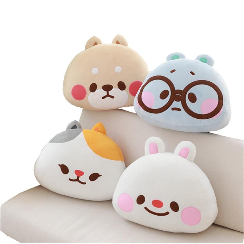 40 cm de dibujos animados Kakao Tonton amigos almohada de felpa juguetes TOBI conejo YUTA perro P cojines BELLA WINNIE oso muñeca niño niña regalos