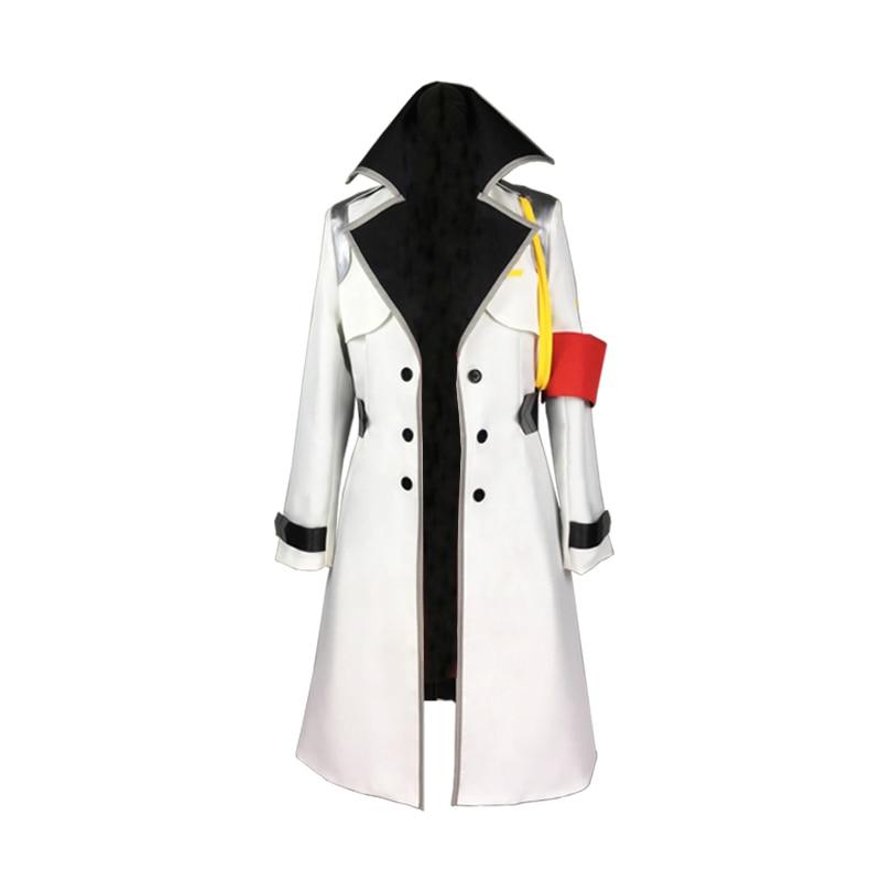 02 DARLING in the FRANXX Anime Cosplay Zero Two Uniform coat cosplay overcoat cloak Winter Trench
