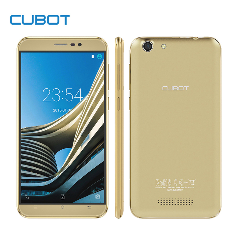 Cubot Note S 4150mAh Battery Smartphone 5.5inch HD Screen Android 5.1 MTK6580