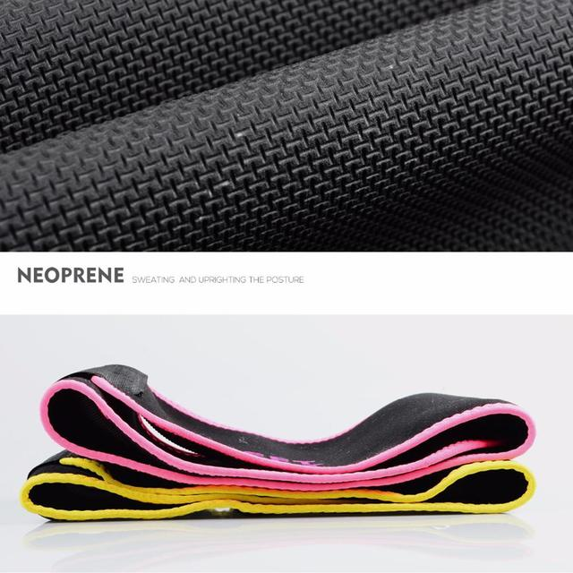 Mounchain Unisex Sport Body-Shaping Bellyband Sexy Underwear Sweat Absorbing Corset Abdomen Belt 5