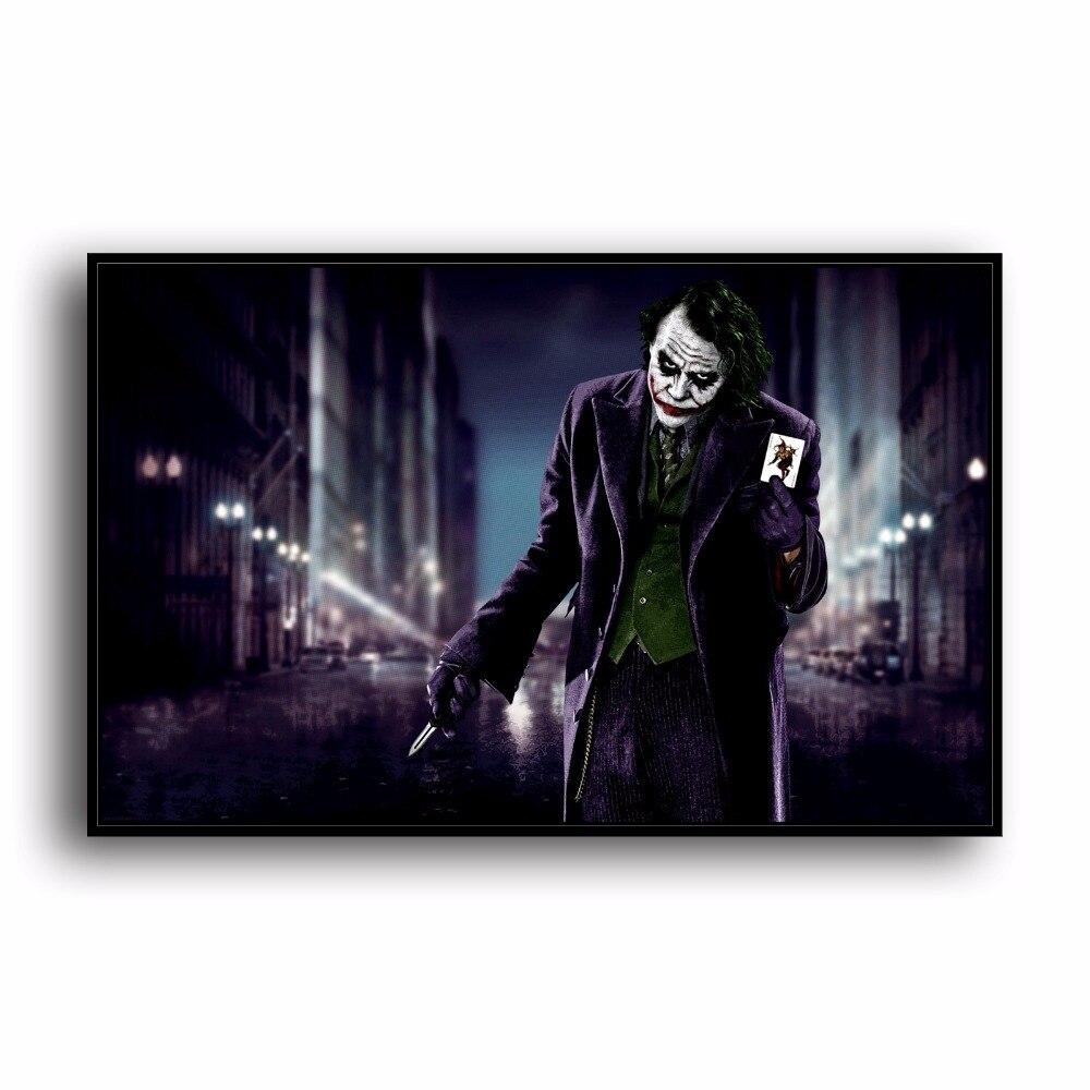 A3734 Joker Batman Poker Anime Movie Universe .HD Canvas