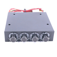 STW 6002 4 Channel Speed Fan Controller With Blue LED Controller And CPU HDD VGA