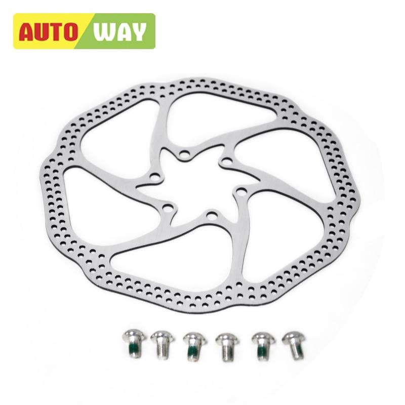 Autoway 2шт велосипедний диск гальмовий - Велоспорт
