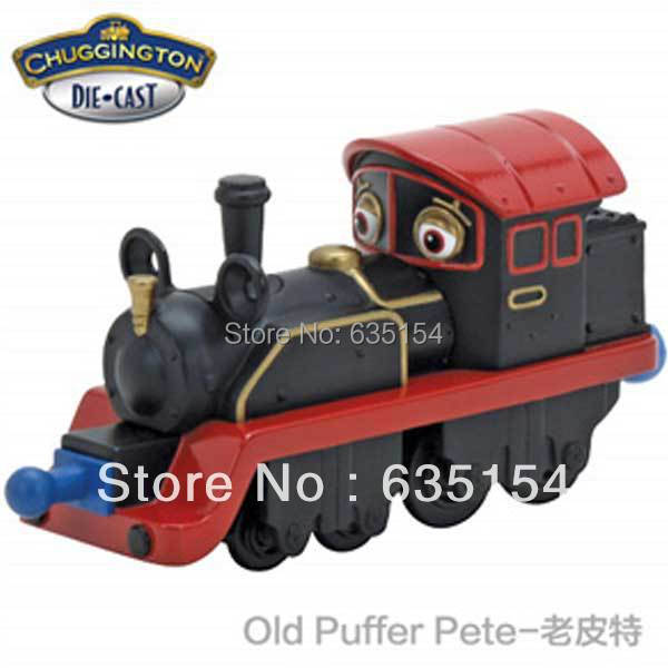 Brand New Chuggington Trains Toys Old Puffer Pete Diecast Metal ...