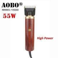 55 Вт высокомощный профессиональный триммер для волос для собак, набор для ухода за домашними животными, кошками, Высококачественная машинк...