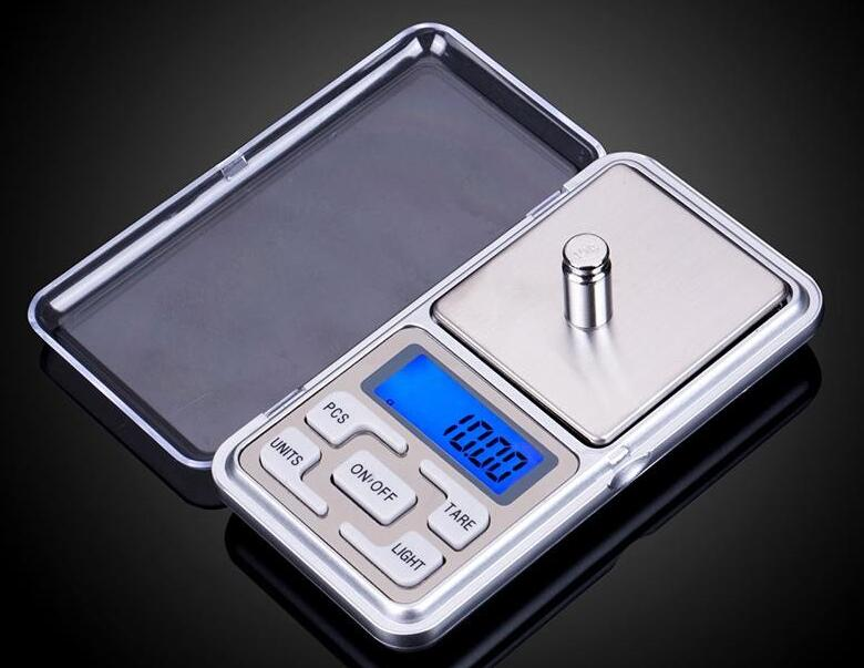Hot selling 500g/0.01g Electronic Balance Pocket Digital Jewelry Scale g/ oz/ ct/ gn Precision