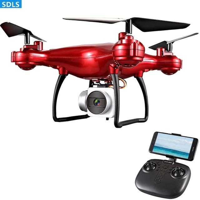 최대 25 분 플레이 2.4G RC 드론 Quadrocopter 헬리콥터 1080P WIFI FPV HD 카메라 세트 높이 3D 롤링 궤적 비행