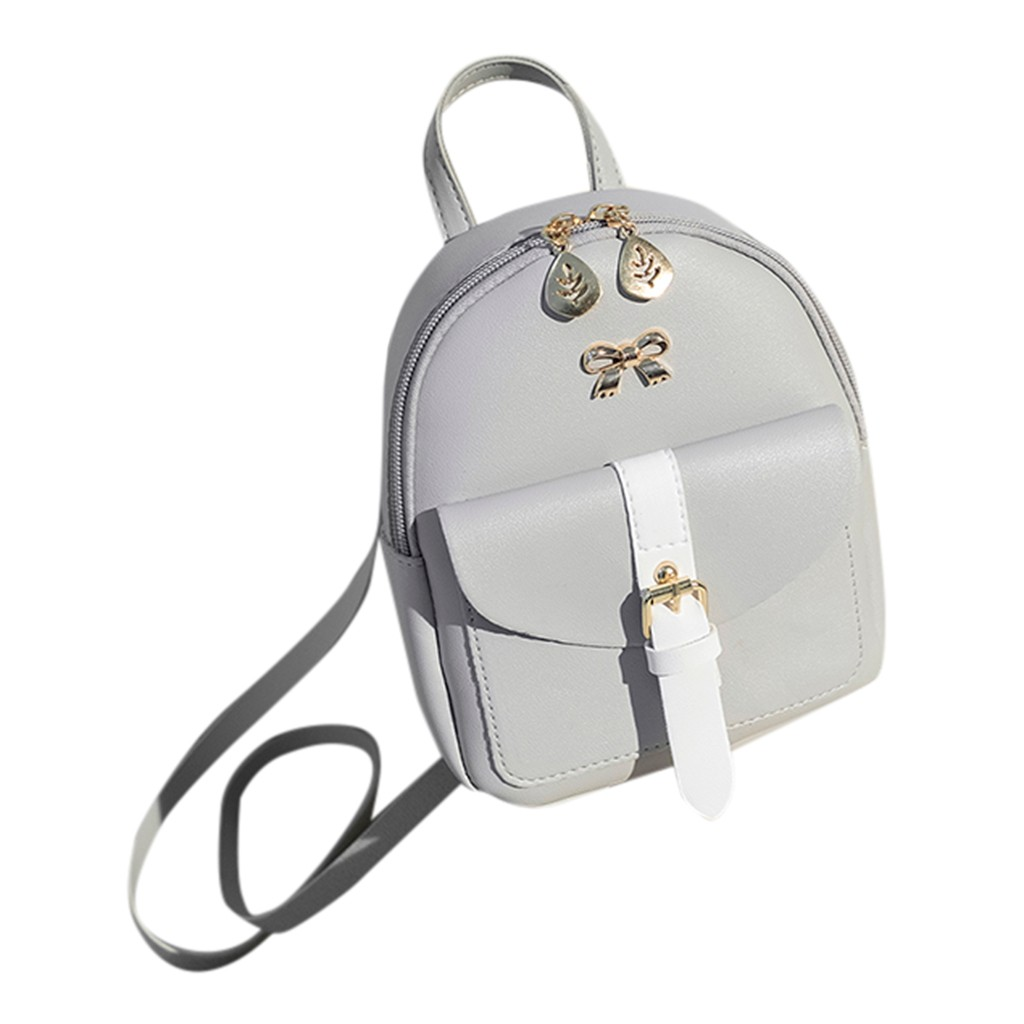 HTB1AL0HNmzqK1RjSZPcq6zTepXaa Convenient fashion Travel Fashion Lady Shoulders Small Backpack Letter Purse Mobile Phone mochilas Canta