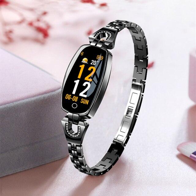 Gift! Smart Band Women Blood Pressure Step Fitness Tracker Heart Rate Monitor Smart Bracelet Multiple Sport Waterproof Wristband