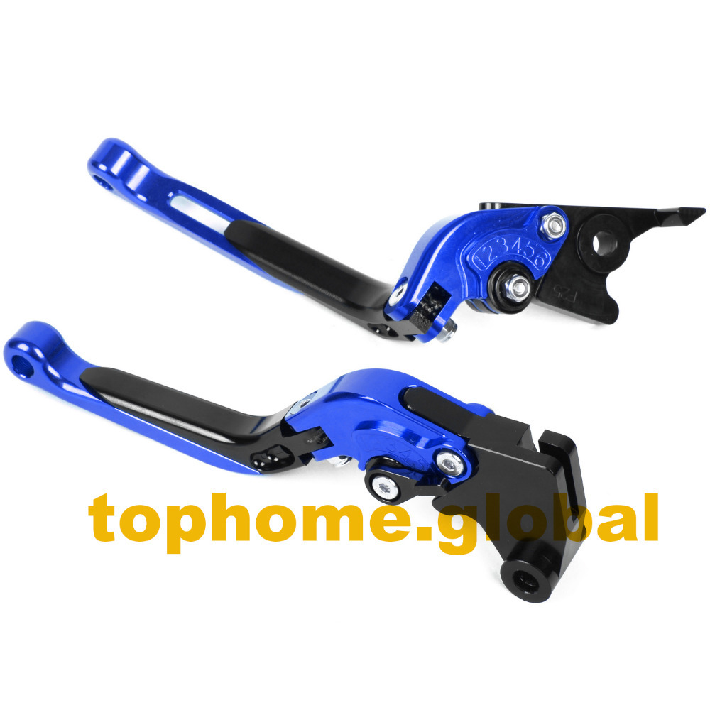 Motorbike Accessories CNC Foldable&Extendable Brake Clutch Levers For Yamaha  XV1000 Virago 1986 1989 1987 1988-in Levers, Ropes & Cables from  Automobiles ...