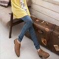Nova Moda Feminina Lady Skinny Jeans Jeggings Calças Sexy Stretchy Calças Leggings Finas