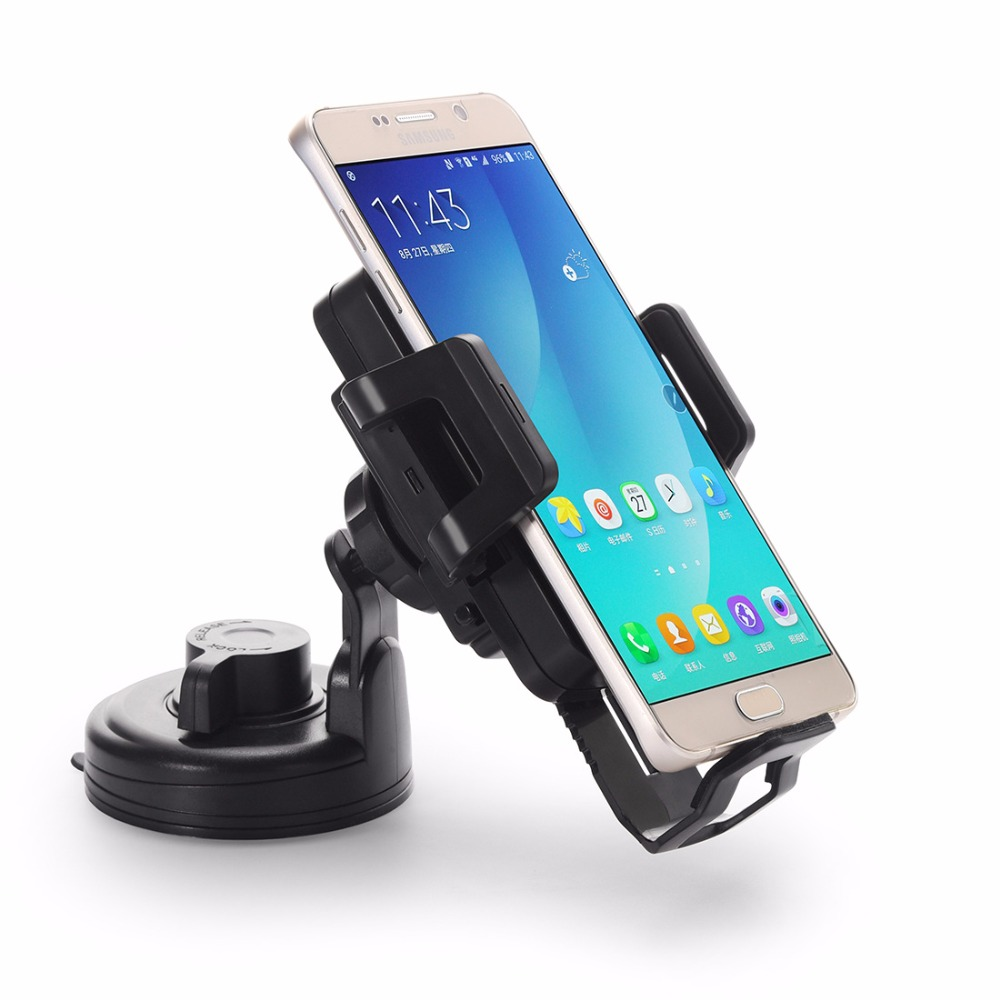 10pcs DHL Free Qi Wireless Charger Air Vent Mount & Holder