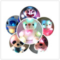 New 6 Styles Colorful Glowing Plush Toy Luminous Animal Teddy Bear Plush Doll for Girl Baby Birthday Gift Lovely Dolls for Baby