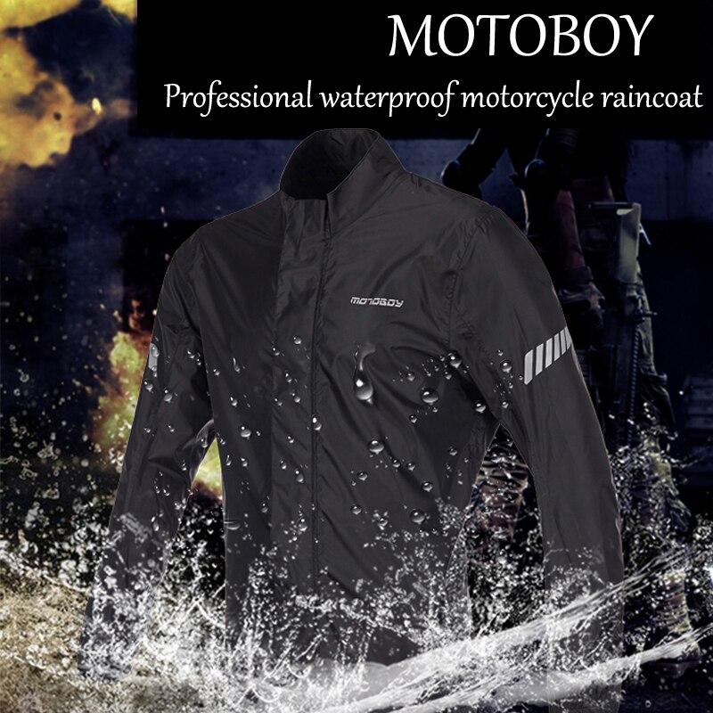 Automobiles & Motorcycles Motorcycle Accessories & Parts Motoboy Motorcycle Waterproof Raincoat Motocross Riding Ventilate Sports Raincoat Rain Pants Suit Motorcycle Rain Suits