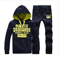 2016 Brand Clothing Hip Hop Sportswear Homme Sweatsuits Men Tracksuits Long Sleeve Male Sweatshirts+Pants 2 Pcs Sets