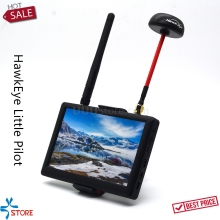 HawkEye Little Pilot 3 5.8G FPV Monitor 5inch & Diversity Dual Receiver Support OSD FPV Ground Station for FPV Racing Drone