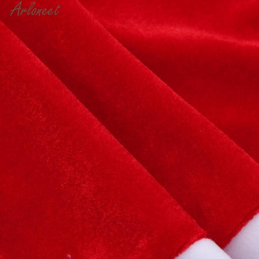 Kleinkind Kind Baby Mädchen Weihnachten Kleidung Kostüm Bowknot Party Kleider + Hut Outfit RE30 Dropshipping