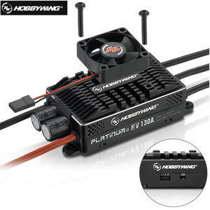 Image 1 - Hobbywing Platinum HV 130A SBEC V4 BEC & 130A OPTO V4 without BEC Empty mold Brushless ESC for RC Drone Helicopter Aircraft