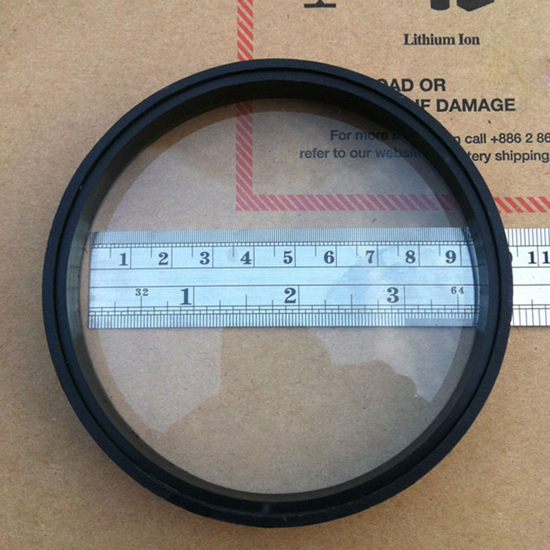 2pcs 100mm Diameter Large Optical Glass Focal Length 290mm ...