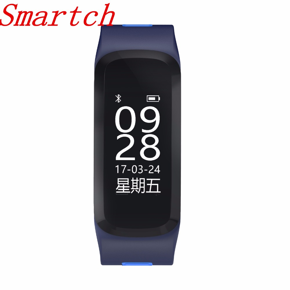 Smartch No.1 F4 Smart Fitness Bracelet IP68 Waterproof Swimming Blood Pressure Blood Oxygen Heart Rate Monitor For IOS image