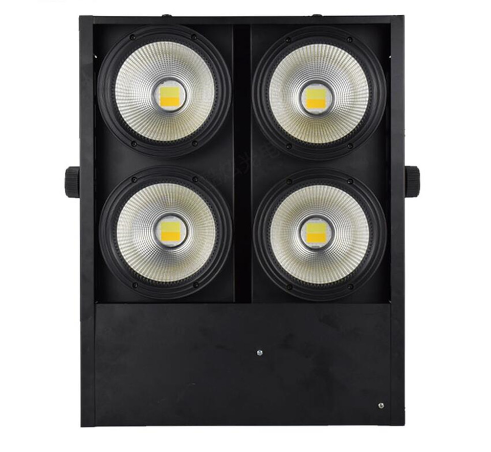 4pcs/lot  4x100W blinder light 4eye COB LED Wash Light High power dj light  DMX Stage  Fast Shipping4pcs/lot  4x100W blinder light 4eye COB LED Wash Light High power dj light  DMX Stage  Fast Shipping