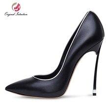 ace41bc8e Intenção Original Mulheres Sexy Salto Alto Pumps Sapatos Mulheres Bowtie  Senhoras Escritório Salto Fino Sapatos Stiletto