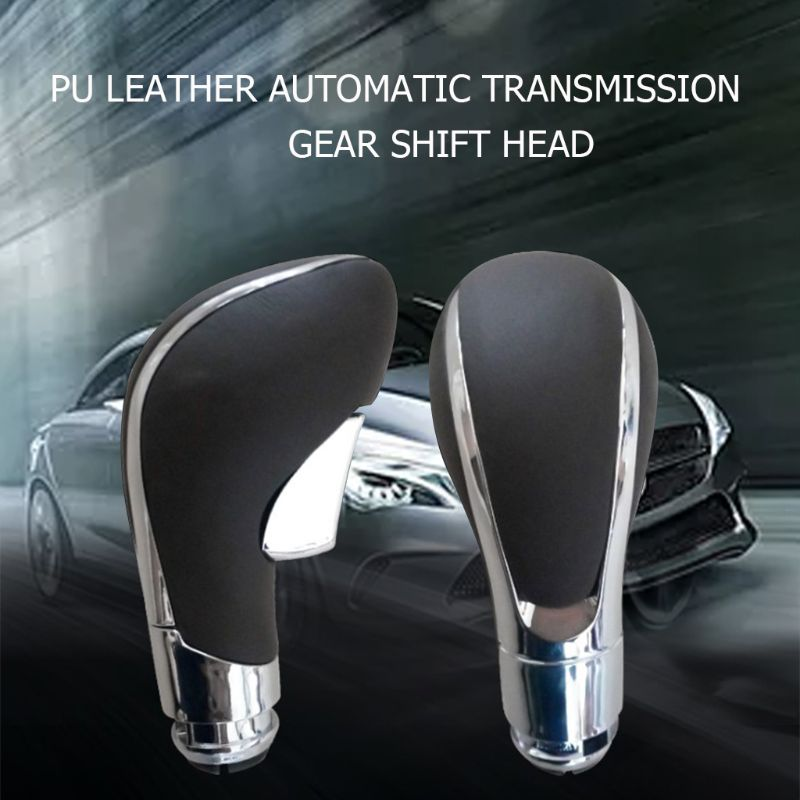 Handball PU Leather Automatic Transmission Gear Shift Handle Shifting Shifter Lever Knob For Buick Regal - title=