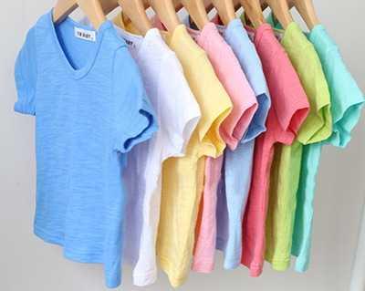Mùa hè Mới 100% Trẻ Em Bông T Áo Sơ Mi Màu Kẹo Ngắn Tay Áo Bé Trai Bé Gái T-Shirt Trẻ Em Chui Tee Chàng Trai Cô Gái quần áo