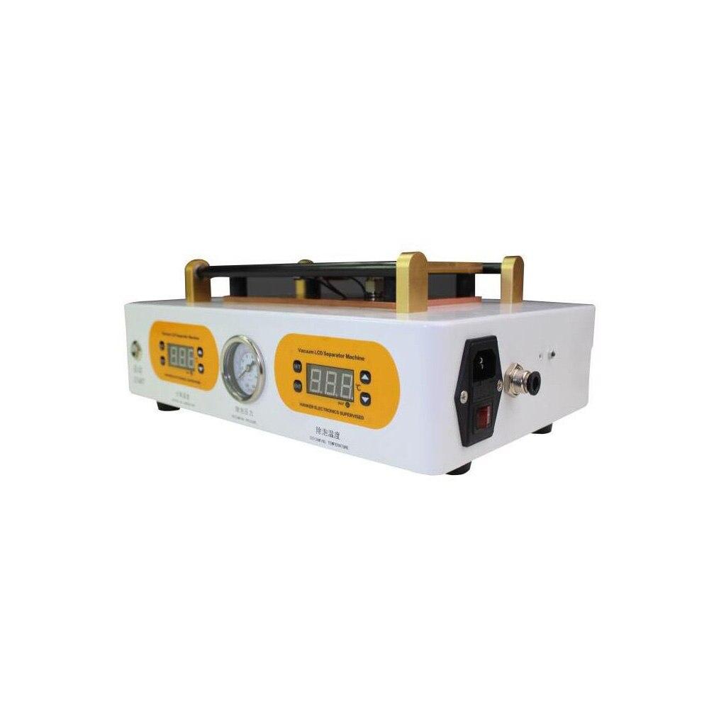 Mini Haute Pression Auto LCD Bubble Supprimer Machine + LCD Écran Séparateur Separater Machine pour 7 Pouce Écran De Réparation