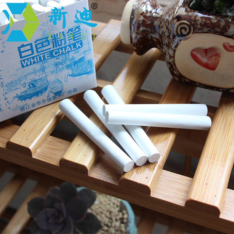 New 10pcs/Lot Dustless White Drawing Chalk For School ...