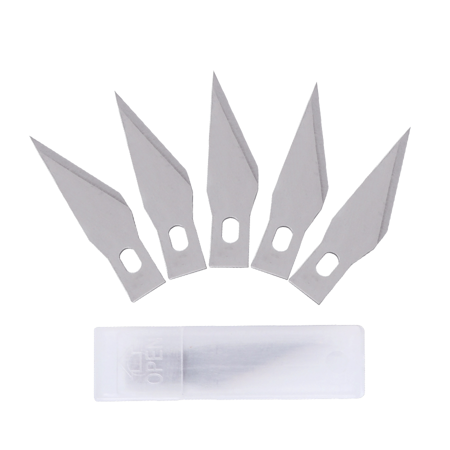 20 Or 30 Pc Metal Scalpel Knife Blades Tools Kit Cutter Engraving Craft Knives Accessories Sculpture Carving Knife Blades