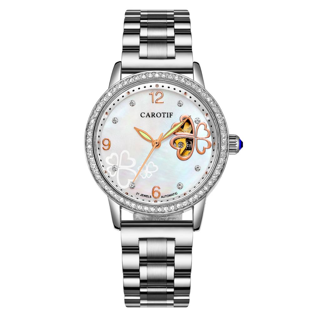 Carotif Fashion automatische mechanische horloges dames - Dameshorloges - Foto 2