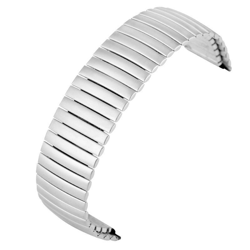 Stretchable Length Watch Band None Buckle Replacement Stainless Steel Wristwatches Strap 20MM 22MM Matt Glossy ремешок для часов