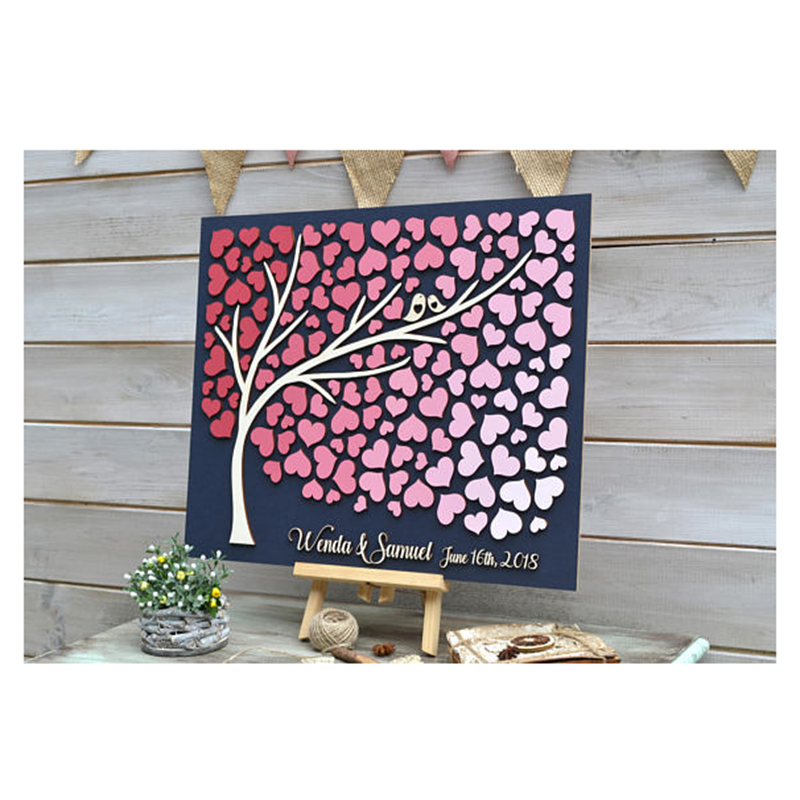 ريفي ضيف حفل زفاف شجرة شجرة شخصية - الأعياد والحفلات