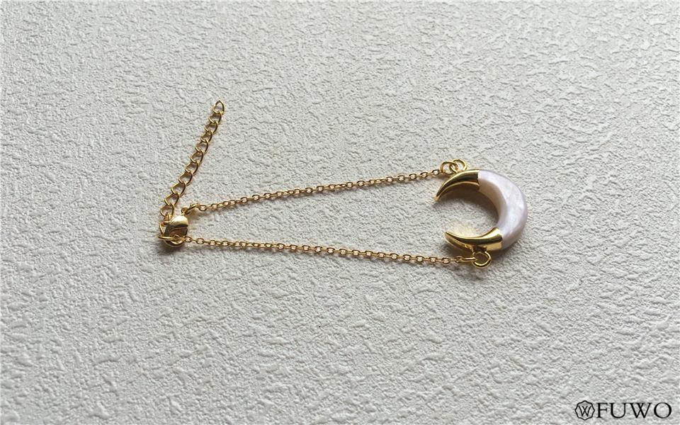 Crescent Moon Shell Bracelet 9
