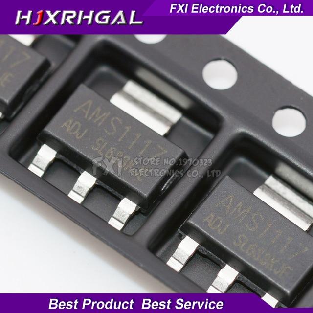50PCS AMS1117 series AMS1117-3.3V AMS1117-ADJ AMS1117-1.8V AMS1117-1.2V AMS1117-5.0V AMS1117-2.5V AMS1117-3.3 AMS1117-5.0