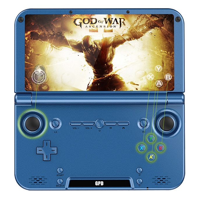 H-IPS 1280*768 Game Player GPD XD 5 Inch Android4.4 Gamepad Tablet PC 2GB/32GB RK3288 Quad Core 1.8GHz Handled Game Console  original gpd xd android4 4 gamepad tablet pc 5 2gb 32gb rk3288 quad core 1 8ghz handled game console h ips 1280 768 game player