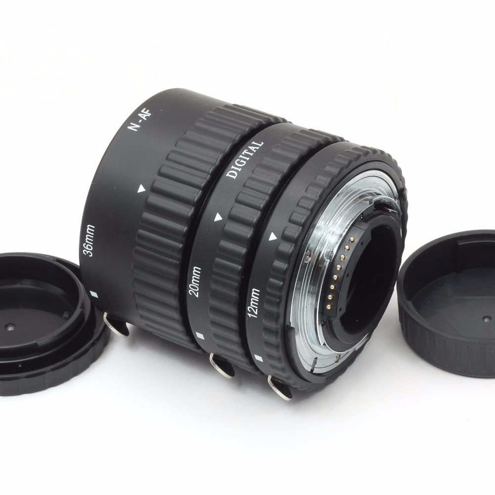 Meike Metal Mount Auto Focus Macro Extension Tube For NIKON