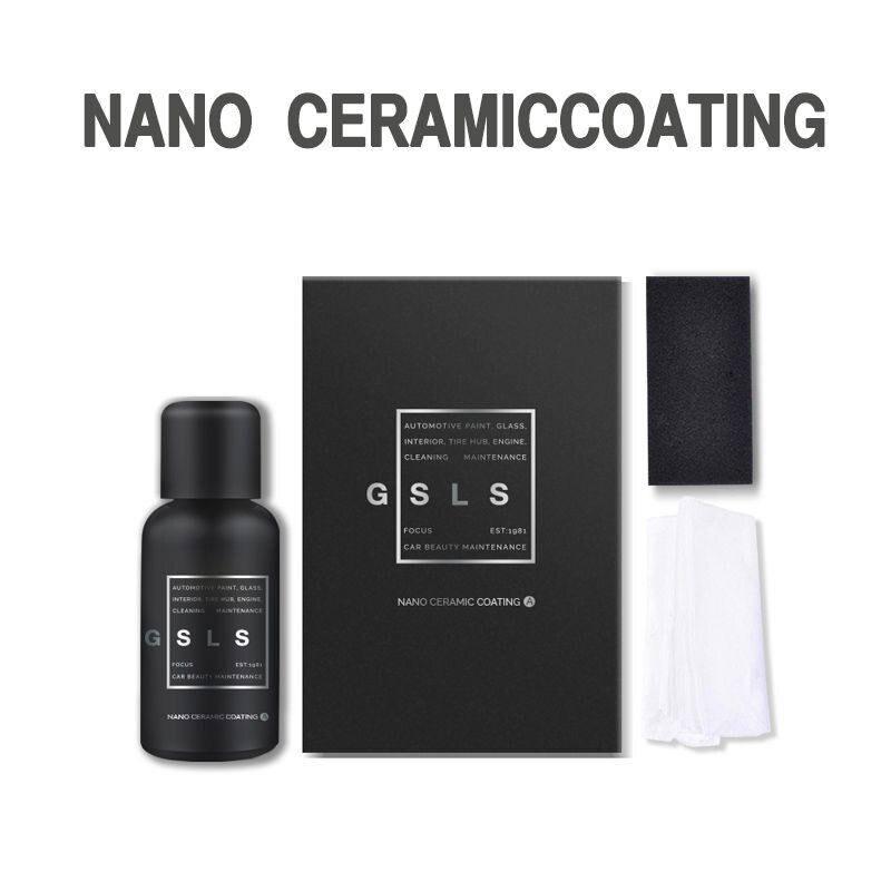 2019 30ml Car Nano Plated Crystals Crystallized Coatings 9h Automotive Ceramics Nano Coatings Liquid Paint Care