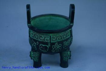Rare Old Han Dynasty(25---186) bronze censer,#027,best collection&adornment,free shipping