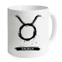 Zodiac Taurus Freehand Milk Drinking Mug Ceramic Cup