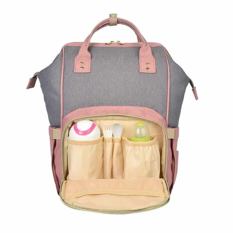 Плечо мумия мешок Multi-Функция большой Ёмкость материнской ребенок посылка беременных посылка, дети поставки четырех частей