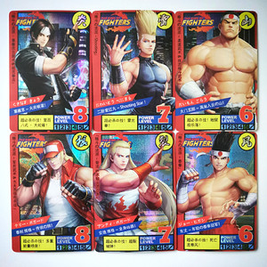 55pcs/set The King of Fighters 94 95 96 97 Childhood Memories Toys Hobbies Hobby Collectibles Game Collection Anime Cards