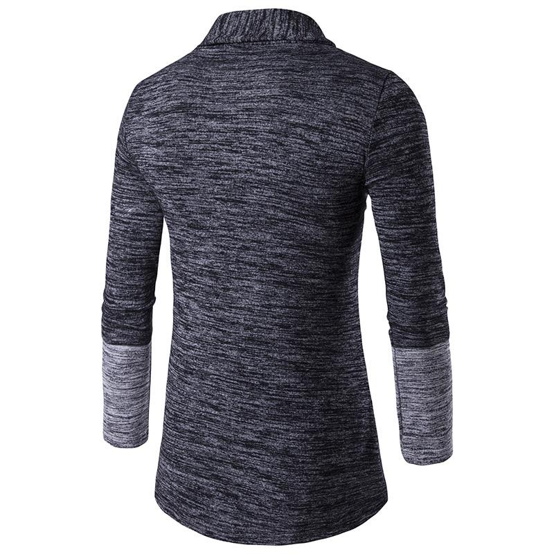 Nueva Llegada de Los Hombres Patchwork Suéter Patrón de Diseño de - Ropa de hombre - foto 5