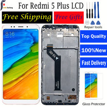 LCD For Xiaomi Redmi 5 Plus Display With Frame+Touch Screen 2160*1080 IPS Original