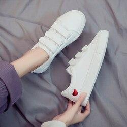 dc01a992f Mulher Sapatos de Couro 2019 Primavera Novas Mulheres Da Moda Sapatos  Casuais de Alta Plataforma PU