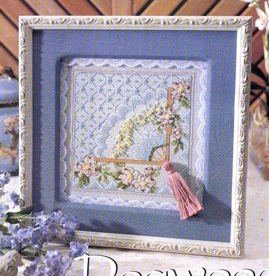 Fishxx Cross Stitch B781flowers[Fan]cotton Thread And Cloth , Water-soluble Printing,100% Accurate Pattern,11CT,embroidery