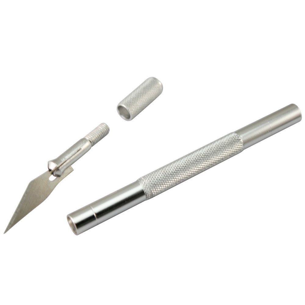 9 Blades Fruit Food Craft Sculpture Engraving Knife Scalpel DIY Cutting Tool (7)